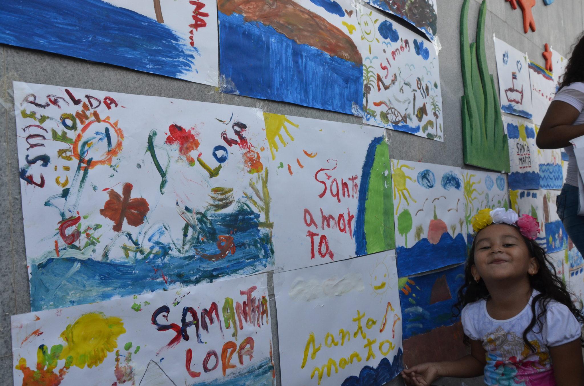 Samarios asisten masivamente a \'Los niños pintan su mar\' - Opinion ...