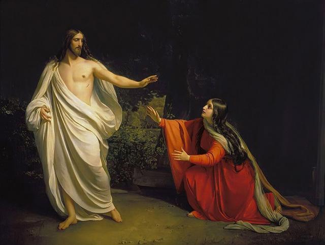 Resultado de imagen de aparicion a maria magdalena