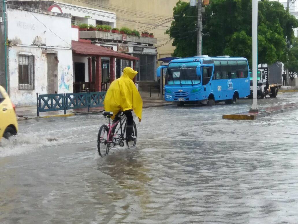 Por fuerte lluvia, parte del acueducto quedó inhabilitado