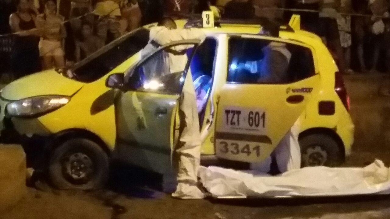 Pasajero habría asesinado a taxista en Chimila I