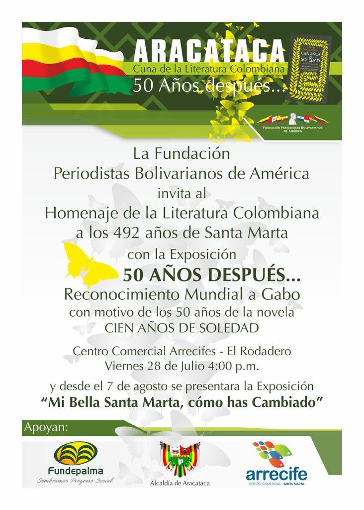 '50 años después', exposición en honor a Santa Marta