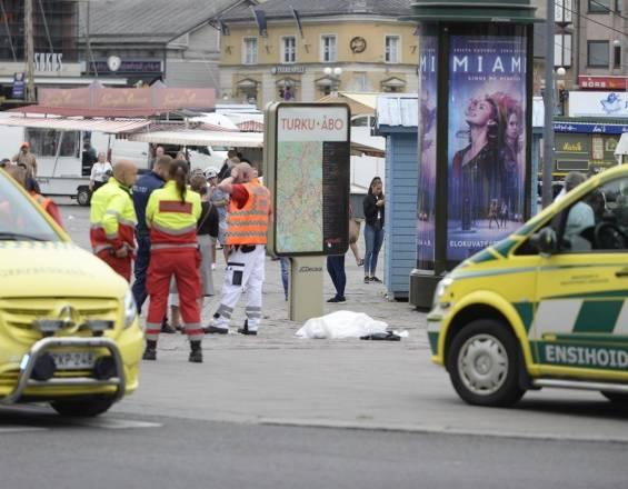 Dos personas muertas tras ataque a cuchillo en Turku, Finlandia