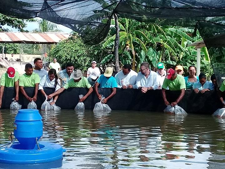 En Cerro de San Antonio alcaldía estimula la piscicultura