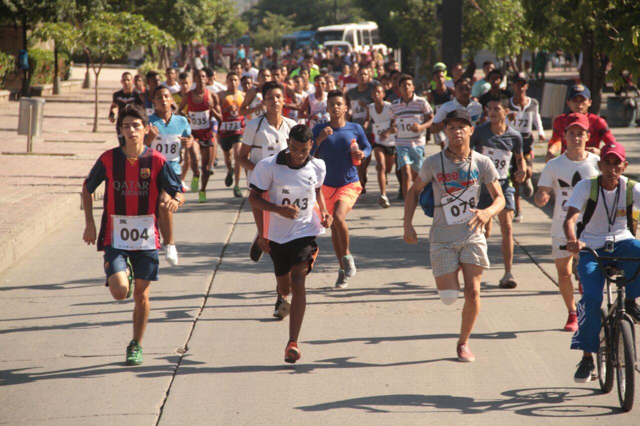 Semana de la juventud culminó con carrera 5K