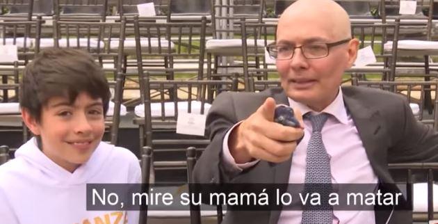 La viral declaración del hijo del ministro de salud sobre petición al papa