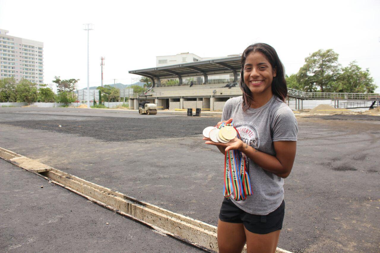 """""""En Santa Marta, hasta un mundial de patinaje puede realizarse"""": Kerstin Sarmiento"""