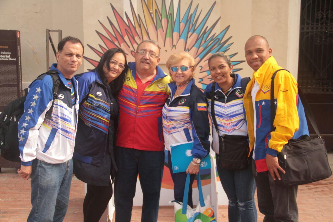 """""""Venimos a ser campeones en Santa Marta"""": Comité Olímpico Venezolano"""