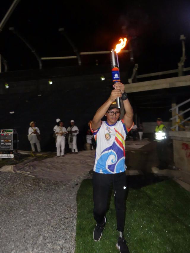 De un campo minado a los Juegos Bolivarianos