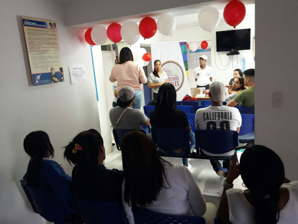En Santa Marta se  realizó jornada gratuita de exámenes de VIH